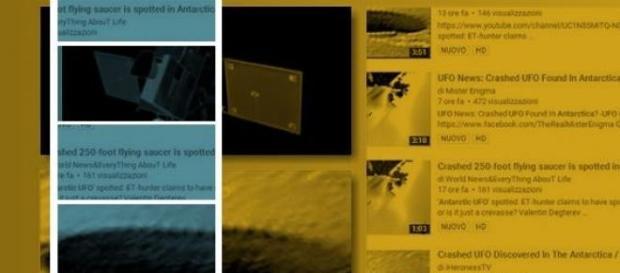 UFO news 2015: mistero in Antartide
