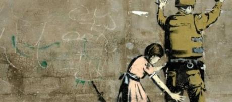 Grafiti de Bansky en Gaza