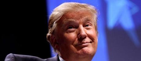 Trump quer erguer um muro entre os EUA e o México.