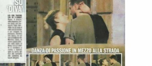I primi baci di Emma Marrone e Fabio Borriello.
