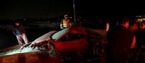 Incidente Ferrari 458 Arturo Vidal