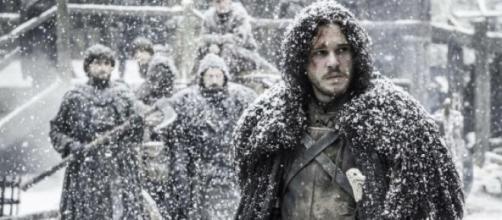 Jon Snow, antes de su apuñalamiento