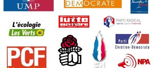 partis politiques - tous les logos