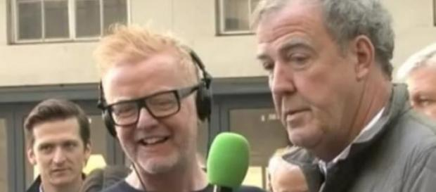 Chris Evans i Jeremy Clarkson: kadr YouTube