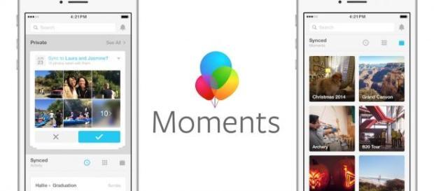 Facebook Moments, la nueva 'app' de Facebook