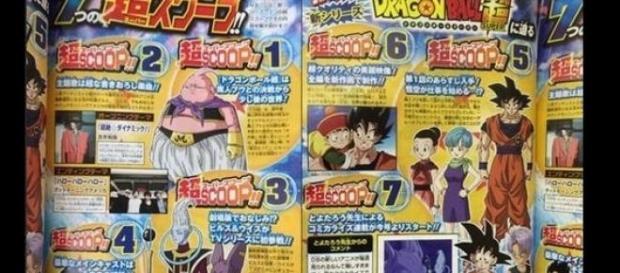 La revista japonesa V-Jump