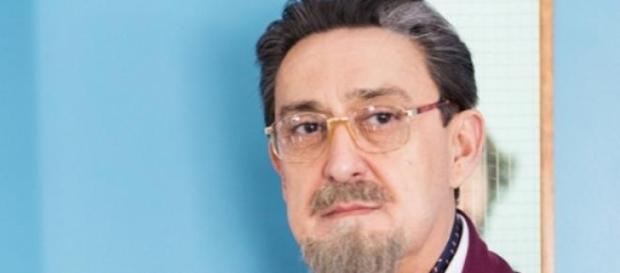 Mariano Peña ataviado como Benito Benjumea