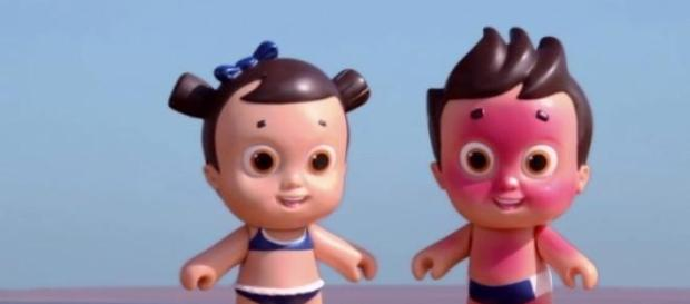 Nivea's UV-sensitive doll