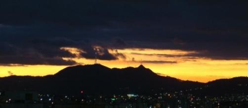 Foto do Pico do Jaraguá na cidade de São Paulo