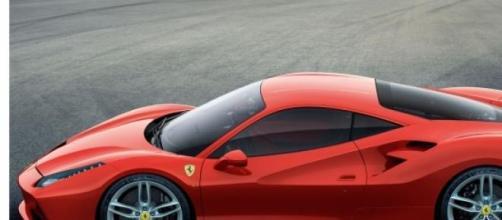 La nuova Ferrari 488 GTB.