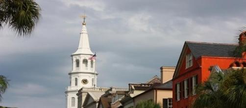 Scorcio di Charleston, luogo della strage