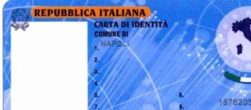 Un esempio di Carta di Identità Elettronica