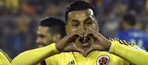 Murillo festeja el gol del triunfo