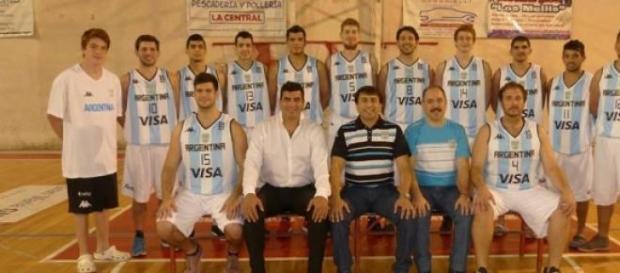 """Los Topos"" selección Argentina basquet  de sordos"