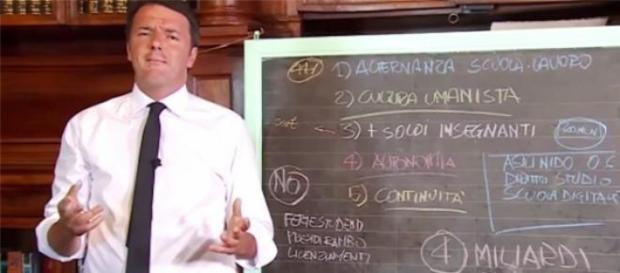 Riforma scuola Renzi, spiraglio per assunzioni