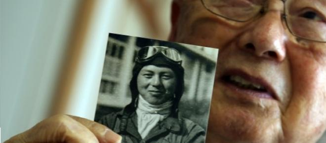 Hisashi Tezuka as a Kamikaze Pilot