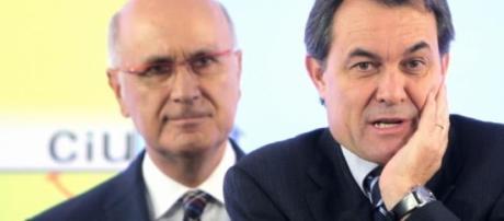 Artur Mas y Josep Antoni Duran i Lleida