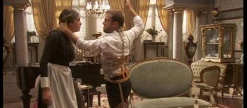 Fernando aggredisce Mariana