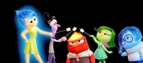 "Foto de película animada infantil ""Intensamente"""