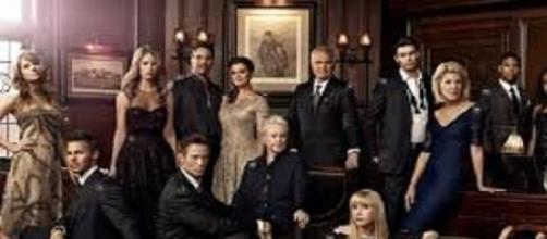 Foto di gruppo del cast di Beautiful
