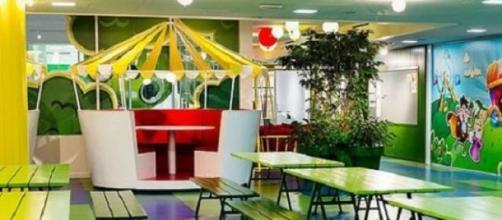 Sala de refeições para os funcionários