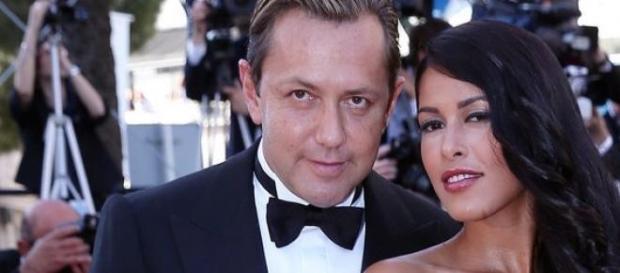 Ayem Nour et Vincent Miclet au festival de Cannes.