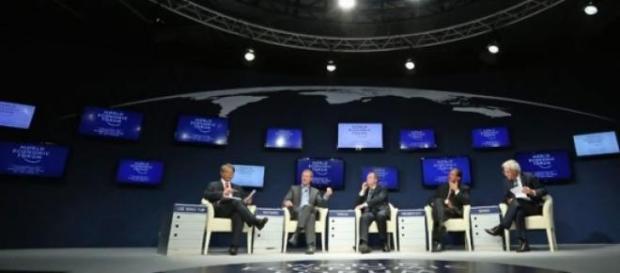 Le Forum de Davos, en Suisse.