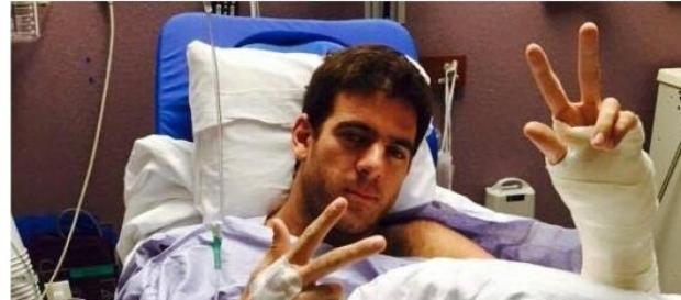 Nueva cirugía exitosa para Del Potro
