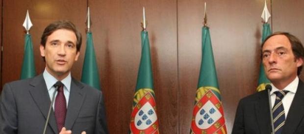 Passos Coelho e Paulo Portas concorrem coligados.