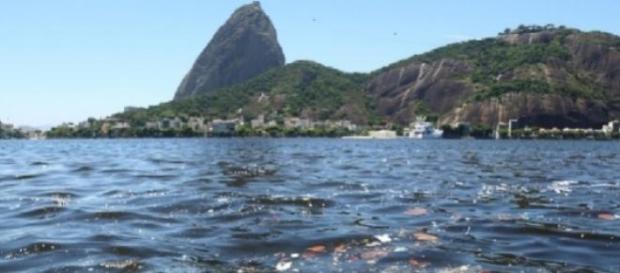 Poluição na Baía de Guanabara