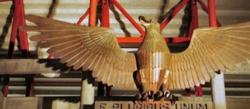 A águia é o símbolo maior do Benfica