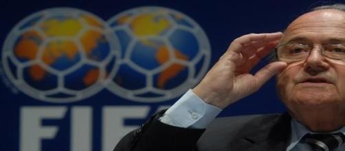 Blatter tinha sido reeleito para o seu 5º mandato.