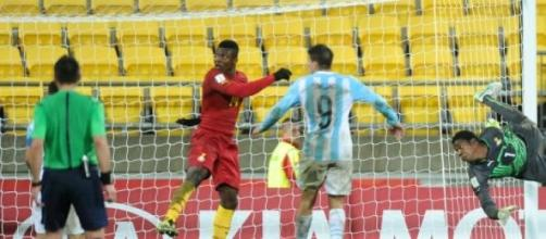 La Selección Sub-20 no Ghana y se complica