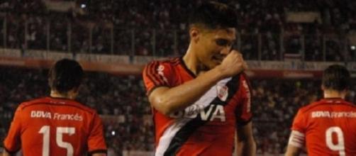 Teo Gutiérrez volvió a lucirse el domingo en River