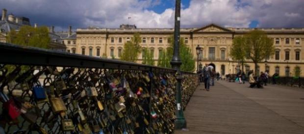 Así podía verse al Puente de las Artes
