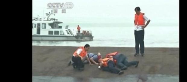 Imagem da TV Chinesa CCTV
