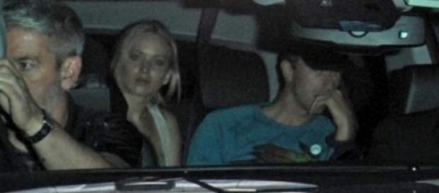 Jennifer Lawrence e Chris Martin Foto: Splash News