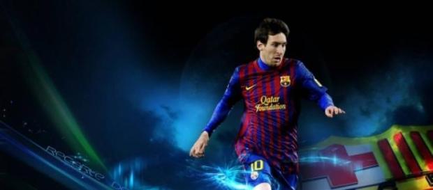 Messi est un génie du foot.