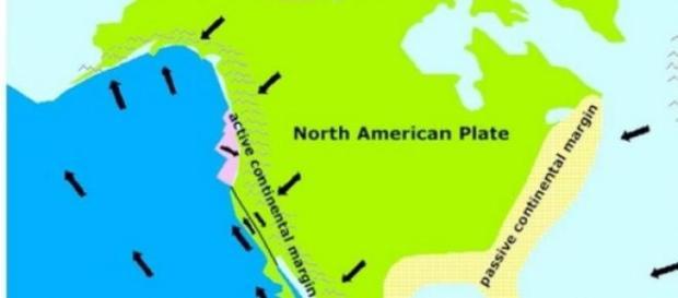 Placile tectonice din America