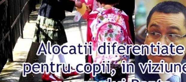 PSD vrea diferenţierea alocaţiilor pentru copii