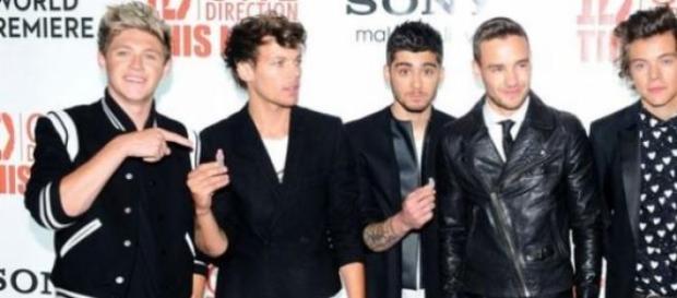 Zayn Malik com os One Direction