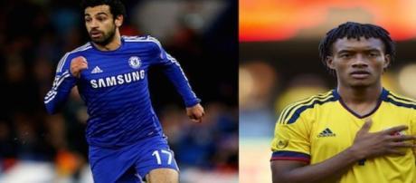 La Juve è interessata a Cuadrado e Salah
