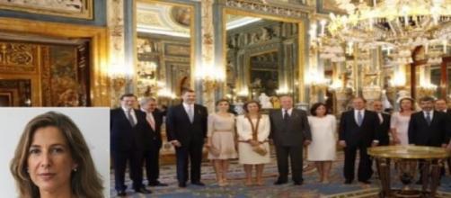 Ana Romero y el Rey Felipe VI