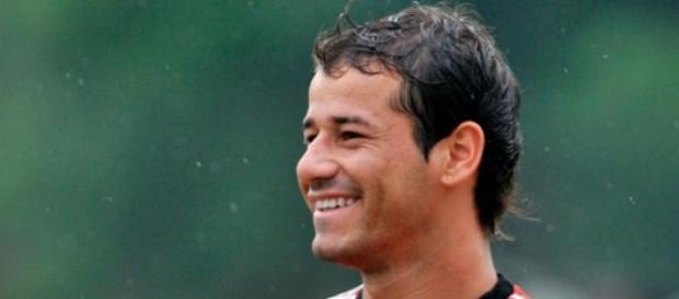 Rodrigo Mora en su entrenamiento matutino