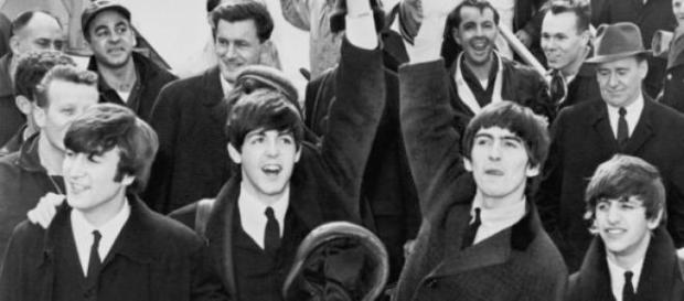The Beatles en su primera gira por América
