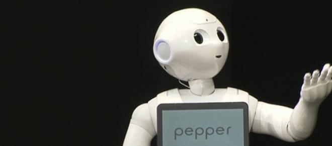 El robot Pepper<br />
