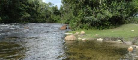 Balneário de Janaína em Montalvânia, Minas Gerais