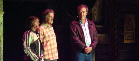 James May, Richard Hammond e Jeremy Clarkson.