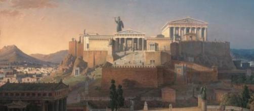 Acrópole de Atenas, na Grécia