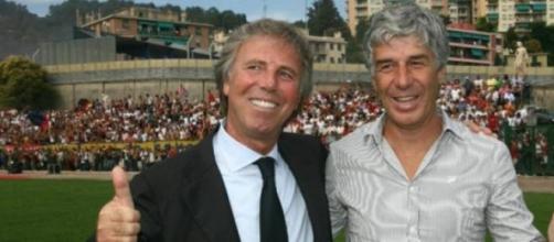 Enrico Preziosi e Gianpiero Gasperini